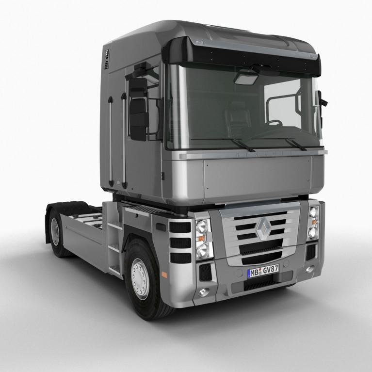 Запчасти грузовика Рено