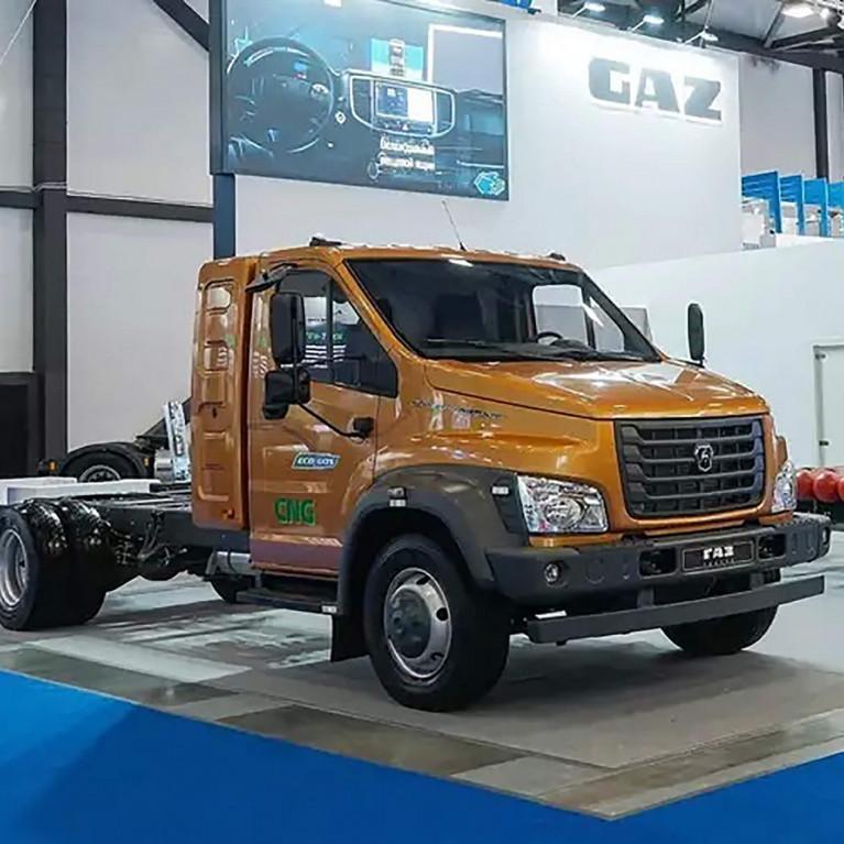 Показаны ГАЗель NN и ГАЗон Next с новыми газовыми двигателями