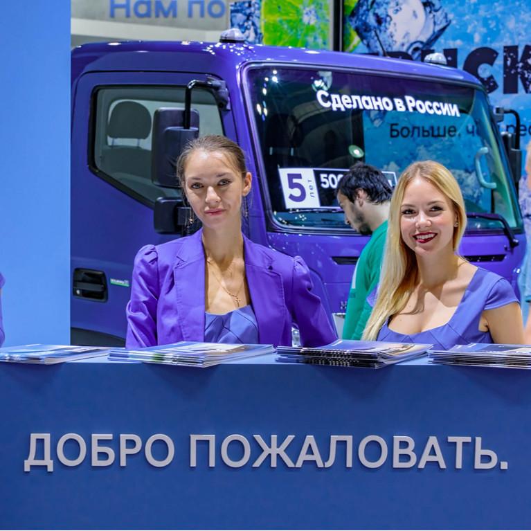 Автобусы на выставке COMTRANS 2021