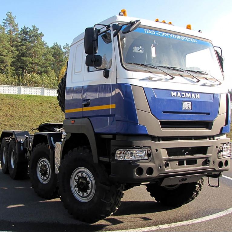 МАЗ-MAN испытывает новый тягач 8x8 собственного производства
