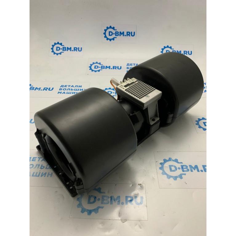 Вентилятор отопителя центробежный двойной 350мм 3-х скоростной с резистором (аналог SPAL) 24V 006-B39-22 / 006-B40-22 / 006-B45-22 / 006B45B22 24V RPA3VCV / 006-B46-22 / 006-B45/B-22 24V RPA3VCV / 006-B45-B22 / 006-B50-22 / H11-000-276 / 72235002