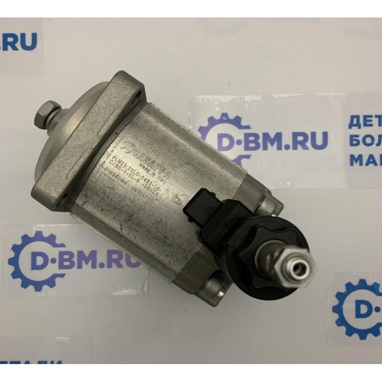 Гидромотор (насос гидропривода вентилятора) Casappa 019992 М4 / PLM20.20LO-54B2-LB замена для Bosch Rexroth 0511725028 019992М4/PLM20.20LO54B2LB