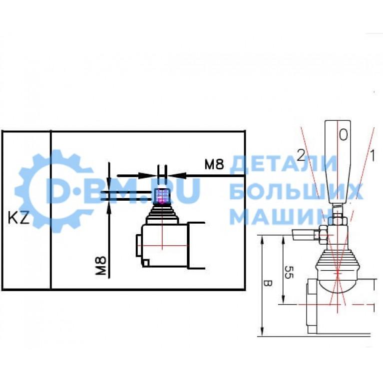 Ремкомплект системы рычага гидрораспределителей серии P40 SPP40LS SP.P40LS SP-P40ls SPP40ls SP.P40ls SP-P40LS
