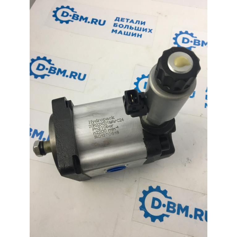 Гидромотор в сборе с клапаном 24V 20R22X021MAV-C24 аналог 0511725028, 0511725021, 81.06660.6058, 81066606058, Q20A22X021MA, 20R220X021MA-B 0511725023