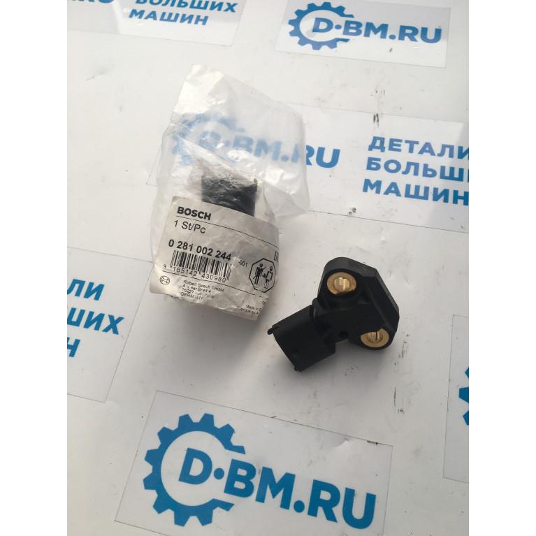 Датчик давления и температуры воздуха во впускном коллекторе двиг. MB OM906LA A0041531828 Bosch, 0281002244