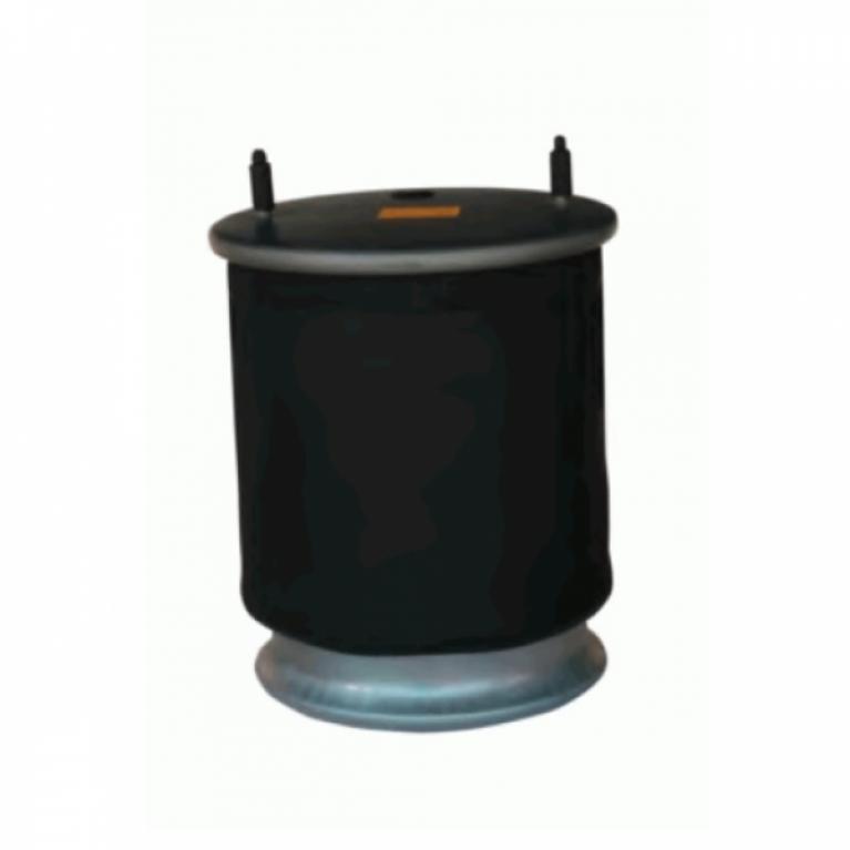 Пневморессора со стаканом SAF 2918V 2шп.M12смещ.25. 1отв.шт.M22. Поршень стальной 4отв.M1 32918K 32918K