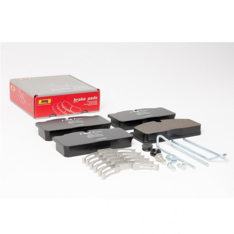 Тормозные колодки дисковые 176x86x26 RVI/DAF/IVECO/MAN 160038RX