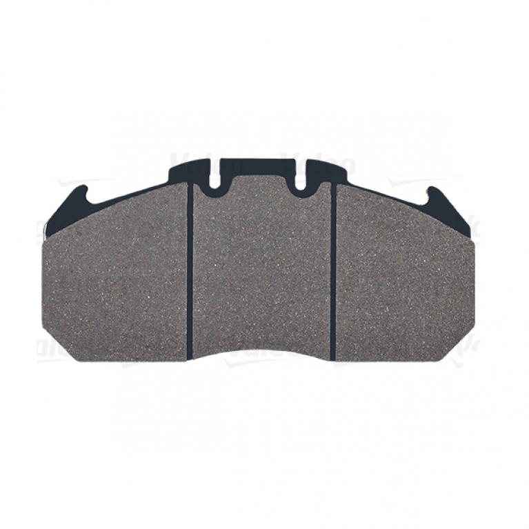 Тормозные колодки дисковые MAN, RVI Magnum/Premium 249.3x117.9x30 с рем.компл. VALEO