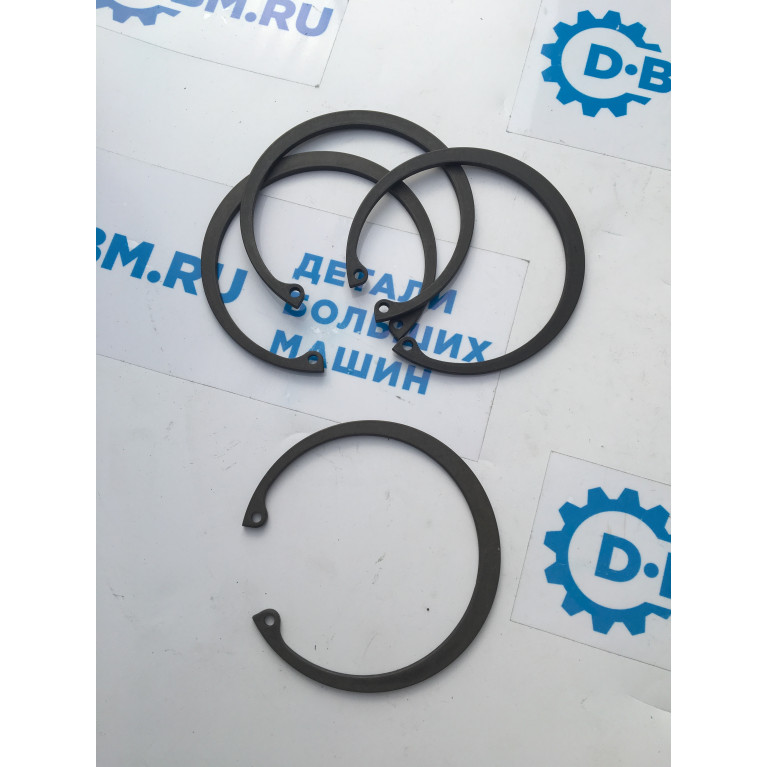 Кольцо стопорное шарнира реактивной тяги (штанги 116*126*2) для автобусов МАЗ, 101-2909032