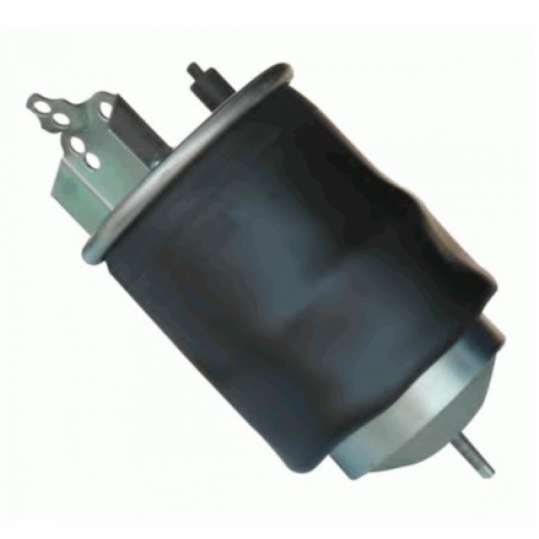 Пневмопамортизатор со стаканом Volvo FM/FH9/12/16 1шп-шт.M16/24 смещ.80+кроншт.4отв.Порш сталь 1шп.M14 36418K 36418K