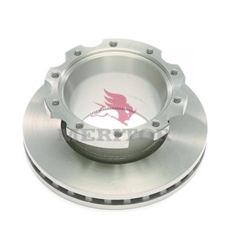 Тормозной диск c ABS 378/150x45 10отв. M16 ROR LM, LMC ABS MERITORMBR5073