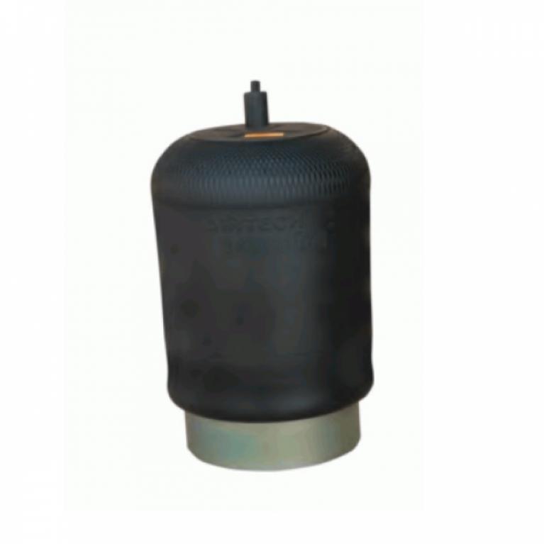 Пневмоподушка со стаканом MB Actros 1шп-штуц.M16/24x1.5 Поршень сталь 1отв.M16x1.5 3439001K 3439001K