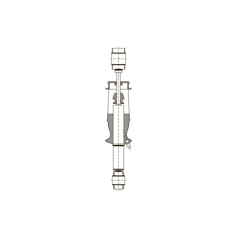 Амортизатор кабины O/O 370-425 24985E EXOVO