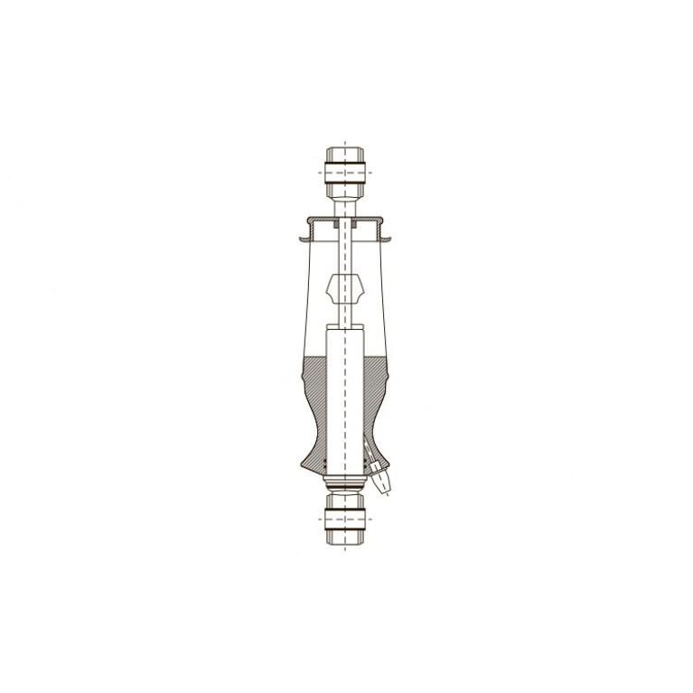 Амортизатор кабины O/O 290-333 24989E EXOVO 24989E