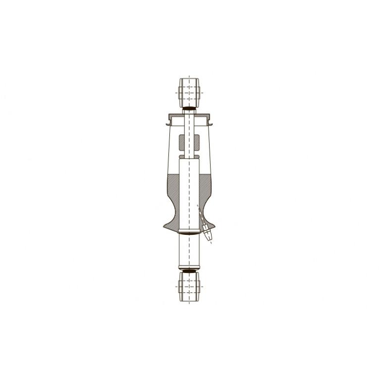 Амортизатор кабины O/O 355-410 24990E EXOVO