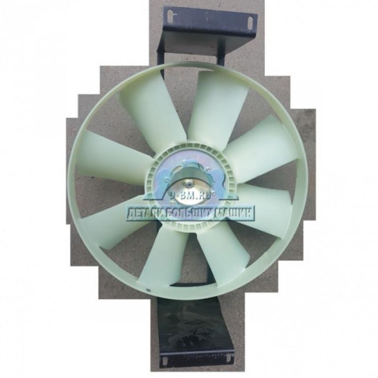 Гидромотор с крыльчаткой и кронштейном в сборе МАЗ Casappa 107466-1308014-20 Bosch 107-1308014-65 107466130801420