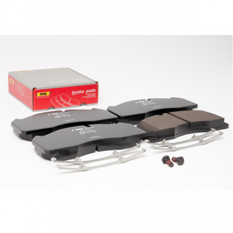 Тормозные колодки дисковые для Volvo FL/FH/FM 249.5x111.7x29 CAREX