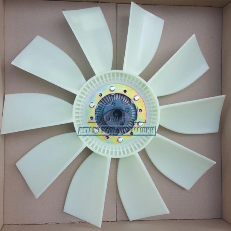 Муфта в сборе с вентилятором ЛИАЗ 5256 аналог Borg Warner 020003784 D=650мм