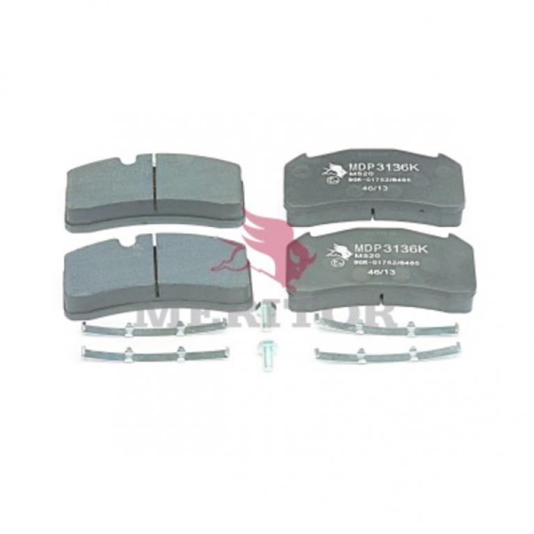 Тормозные колодки дисковые 175.2x88.5x29.2 Volvo FL 180/220/250 MDP3136K MDP3136K