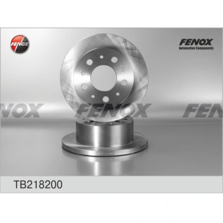 Тормозной диск задний для Jumper, Ducato, Boxer TB218200