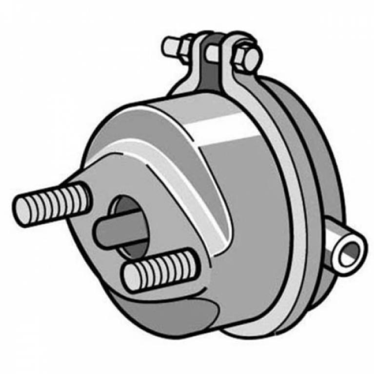 Камера тормозная МАН ТГА/ТГС/ТГХ передняя левая T24 толкатель L=15мм 3.74049 3.74049