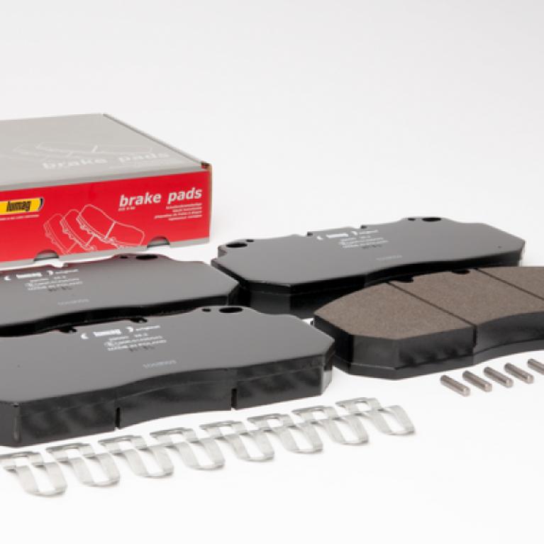 Тормозные колодки дисковые 249.6x114x28 Renault Magnum/Premium, Volvo 160043RX 160043RX