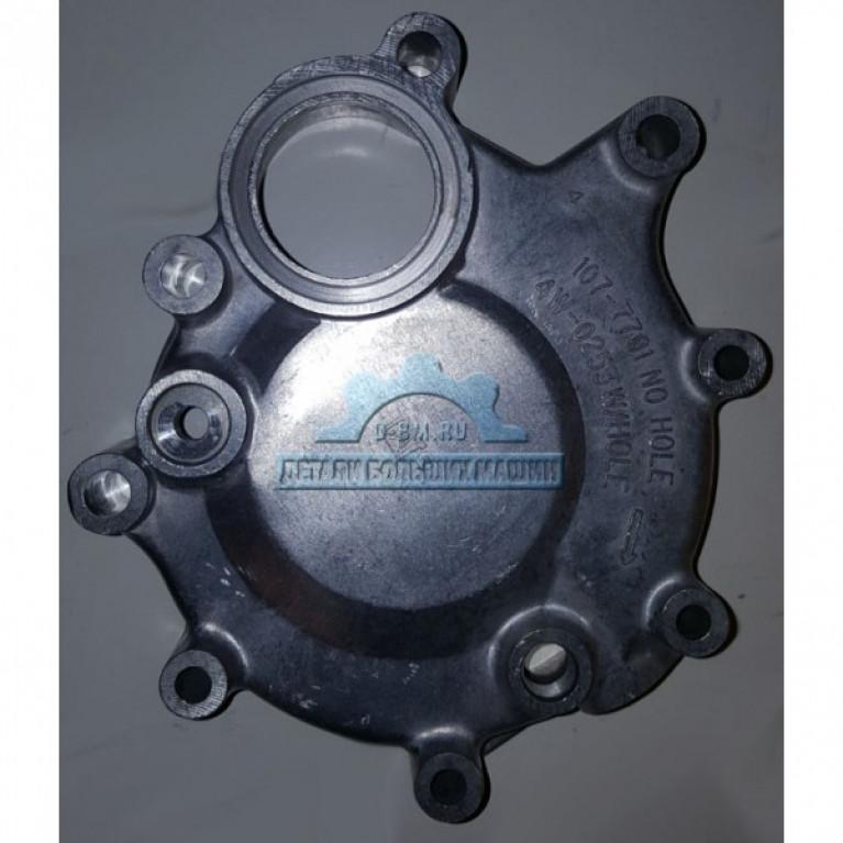 Крышка водяного насоса нижняя ЛиАЗ 5256 двиг. CAT 4W0253