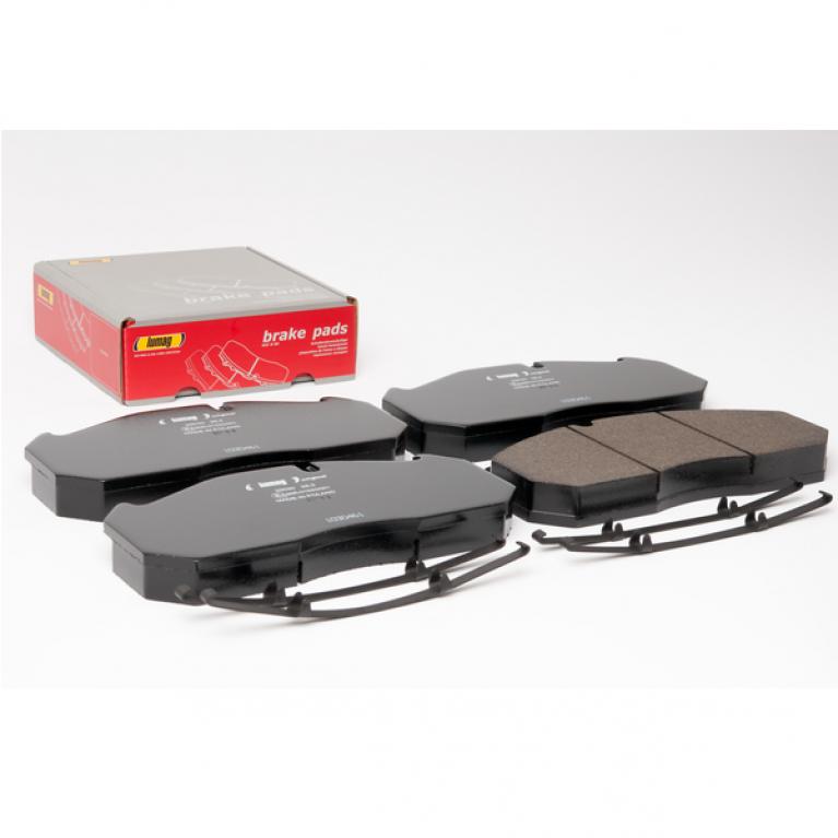 Тормозные колодки дисковые с пластинами 249.6x118.4x28.2 Renault/MAN 160036RX 160036RX