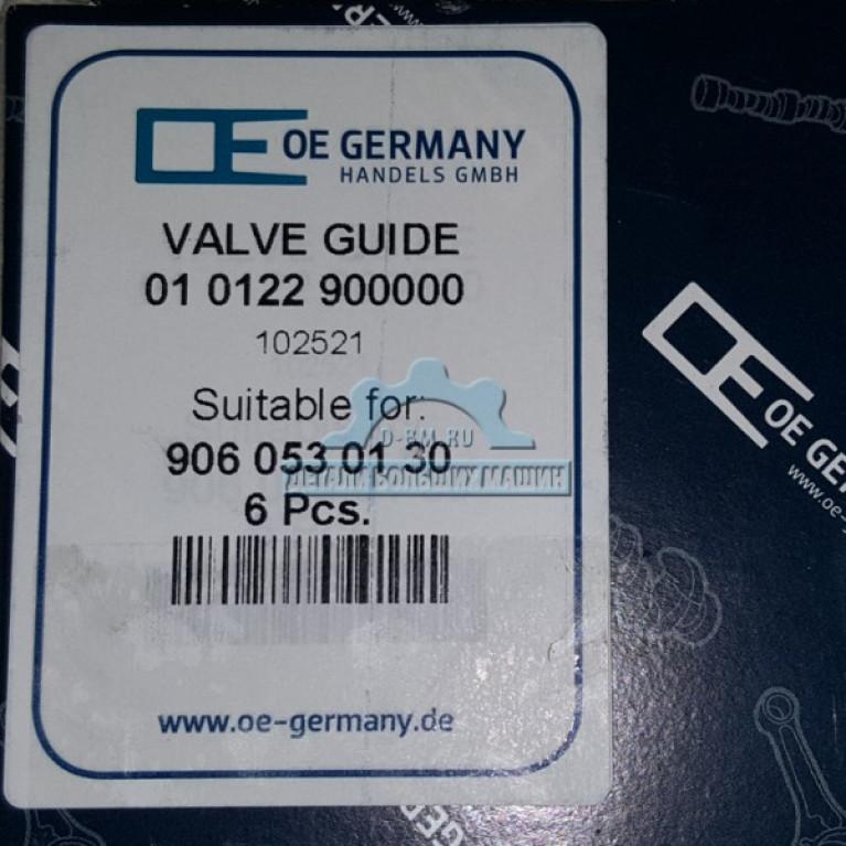 Направляющая клапана впускного/выпускного 9060530130 OM906LA OM904LA 010122900000 OE Germany 010122900000