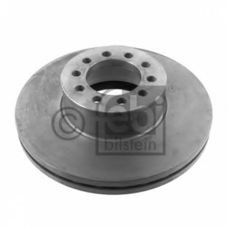 Тормозной диск передний 334.7/93x34 10n-122 вентилируемый МАН L2000/ТГЛ/ТГМ 35345 FEBI