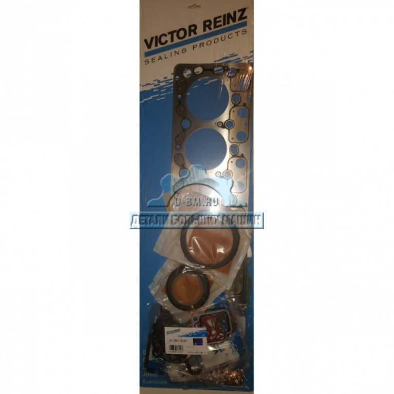 Комплект прокладок двигателя MB OM906 A9060161120 / A9060101505 / A90414102806X / A90614101803X / A90614202803X / 13611501 / 58550 013611501 VICTOR REINZ