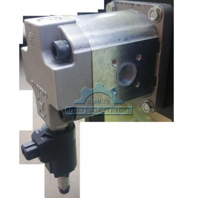 Гидромотор с крыльчаткой и кронштейном в сборе МАЗ Casappa 107466-1308014-20 Bosch 107-1308014-65 107466130801420 107466130801420