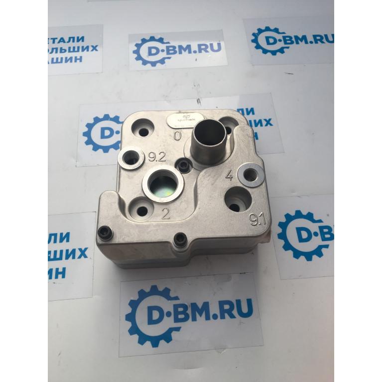 Головка блока цилиндров компрессора двигателя Mersedes-Benz OM906LA OM904LA и МАЗ, RK.01.329 RK.01.329