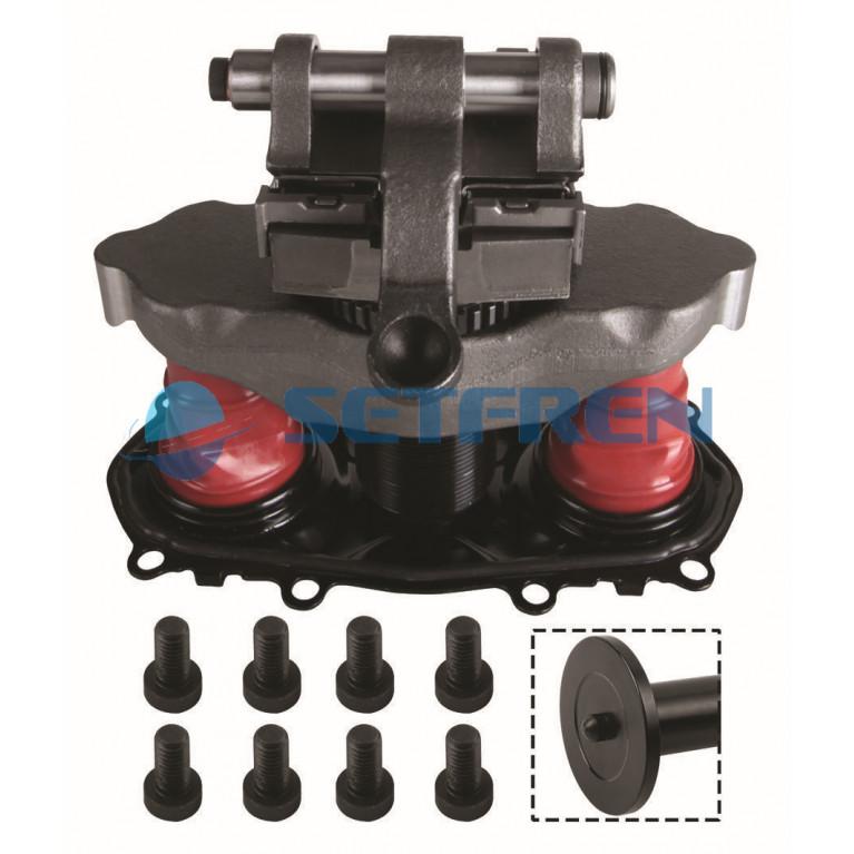 Ремкомплект суппорта (механизм в сборе,пятак со штырем) STB1001 SETFREN