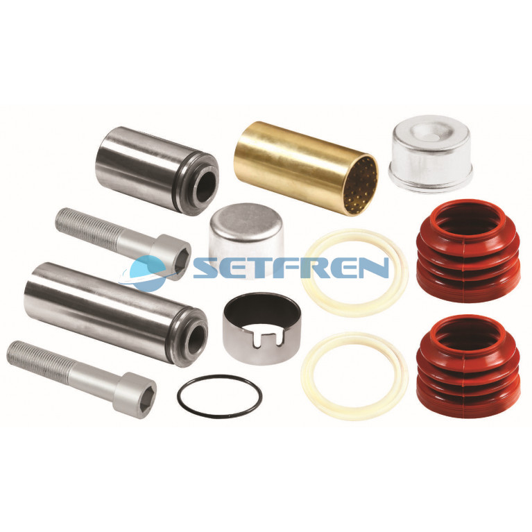 Ремкомплект суппорта KNORR (направляющие,втулки,пыльники) STK1148 SETFREN