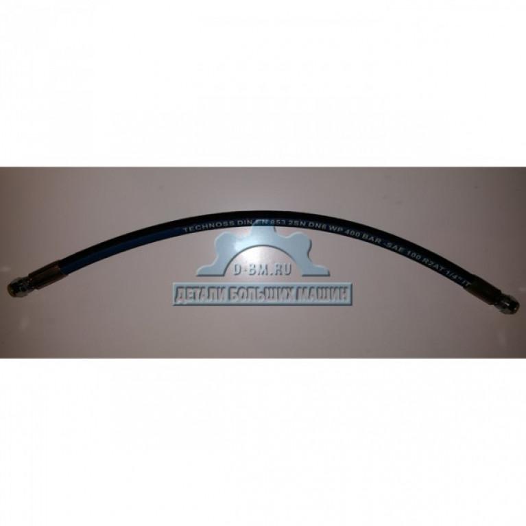 Шланг компрессора ЛиАЗ САТ масляный 090-7055, 9x2341 ориг 0907055 CATERPILLAR
