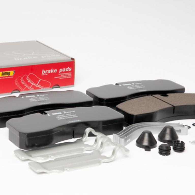 Тормозные колодки дисковые с рем/компл. 210x92x30 MB Atego/man/iveco 160027RX 160027RX