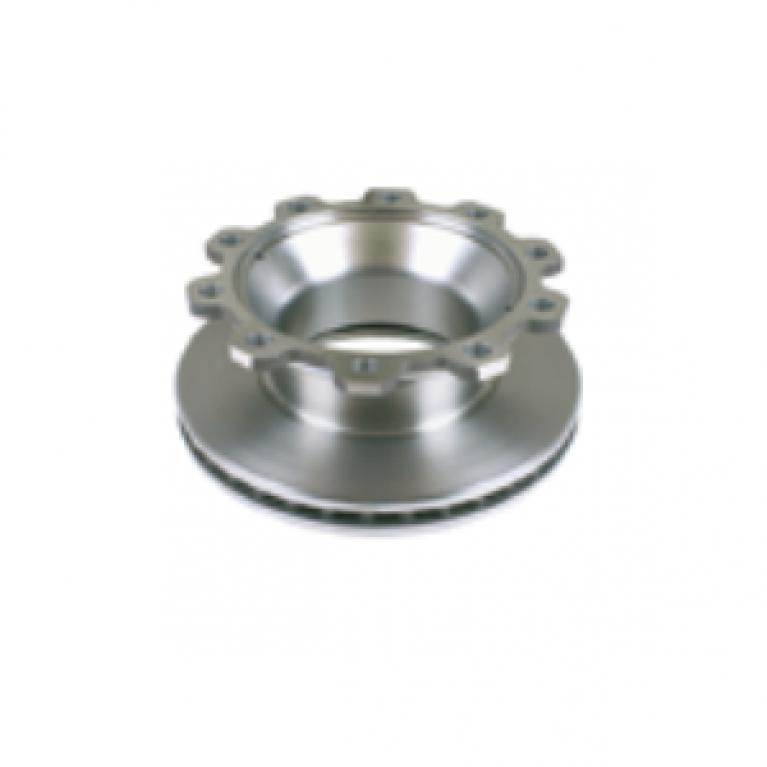 Тормозной диск 430/290x45/160 10 отверстий вентилир. без ABS OE 0308835030, 0308835037 BPW BCR176A