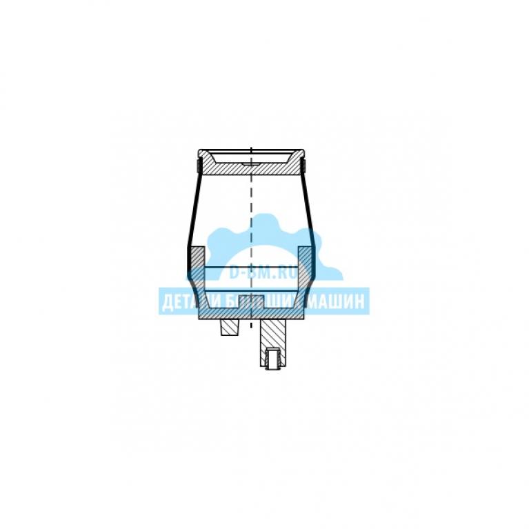 Пневмоподушка / Пневморессора кабины передняя RENAULT Midlum DXi 5/7,Premium,II/TR/PR/DXi 7,Kerax/DXi AIRTECH