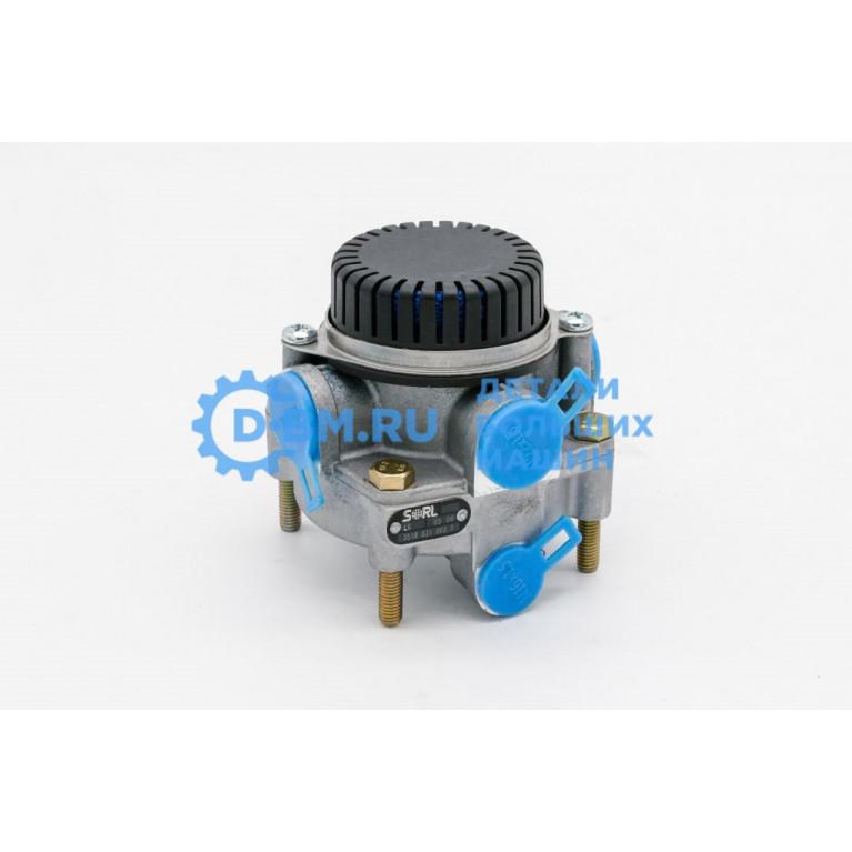 Клапан ускорительный МАЗ с глушителем 35180310030