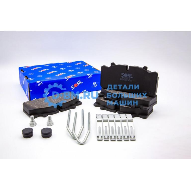 Колодка тормозная с комплектом аксессуаров HM4605+AK001