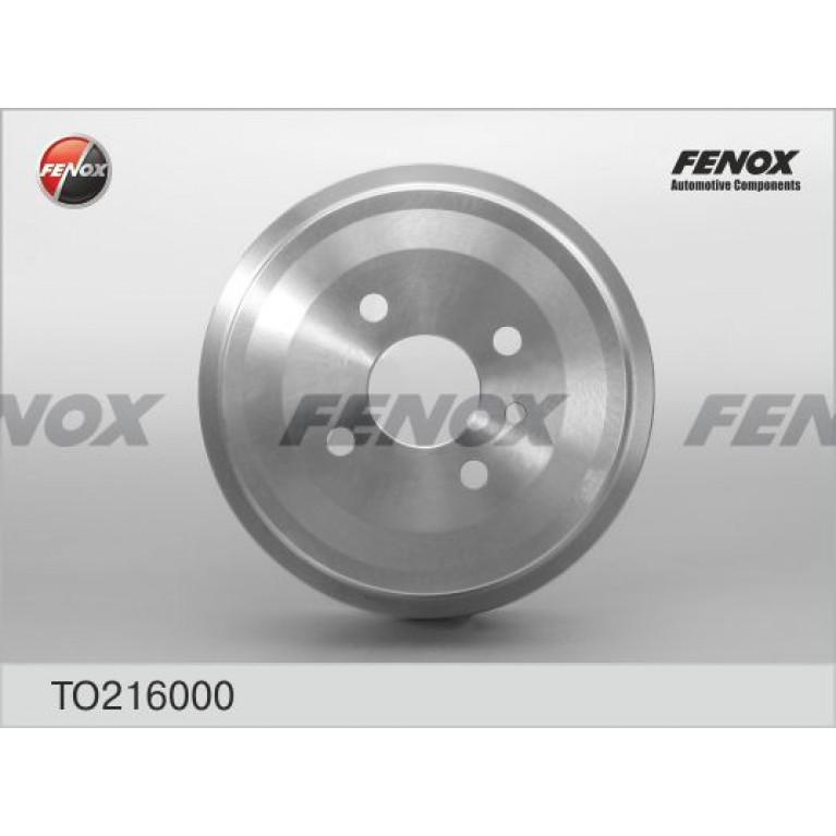 Барабан тормозной DAEWOO Nexia CHEVROLET Lanos задний (1шт.) FENOX