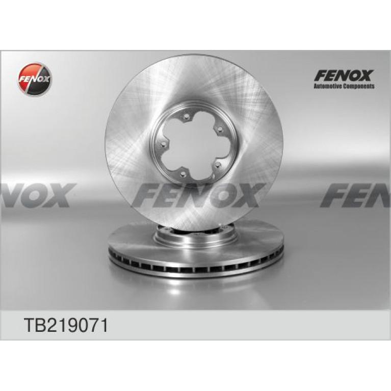 Диск тормозной FORD Transit (00-06) передний (1шт.) FENOX