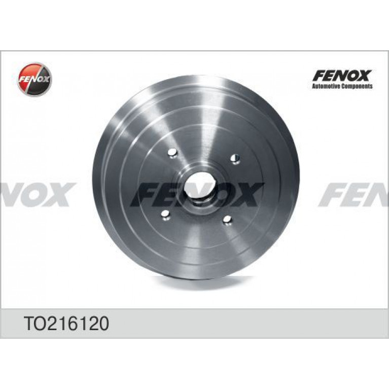 Барабан тормозной DAEWOO CHEVROLET Lanos (05-) задний (1шт.) FENOX