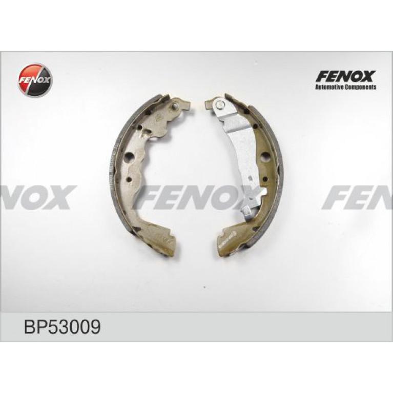 Колодки тормозные RENAULT Kangoo (07-) задние барабанные (4шт.) FENOX