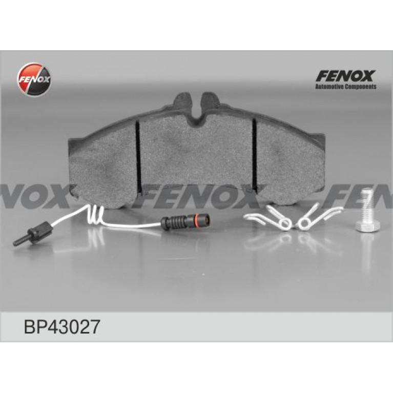 Колодки тормозные MERCEDES Sprinter (96-06) передние (4шт.) FENOX