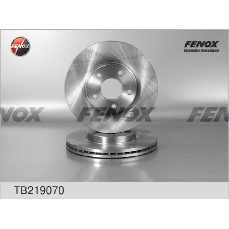 Диск тормозной FORD Transit Connect,Tourneo передний (1шт.) FENOX