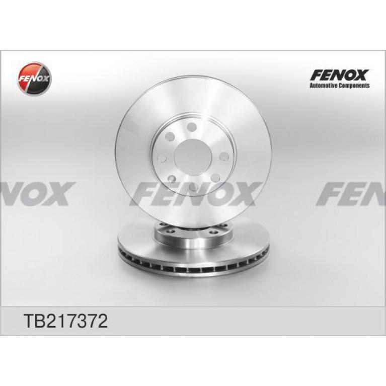 Диск тормозной OPEL Astra G (98-05) передний (1шт.) FENOX