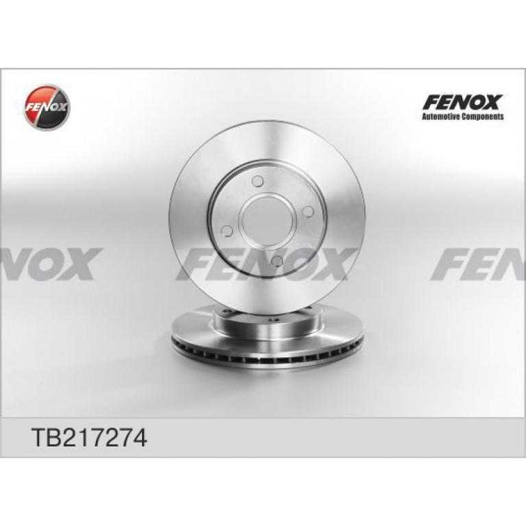 Диск тормозной FORD Focus (98-05),Fusion (01-) (1.4/1.6) передний (1шт.) FENOX