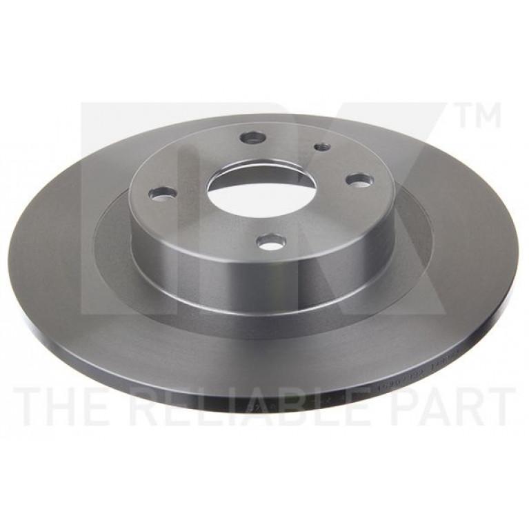 Диск тормозной MAZDA 323 (98-04) задний (1шт.) NK